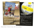 Weymouth Beach Volleyball - Brochure Design